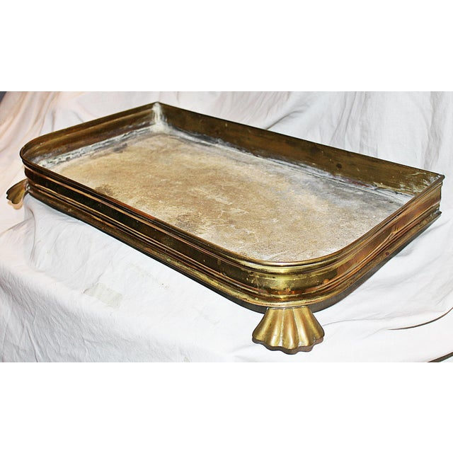 Antique Brass Planter Tray - Image 3 of 7