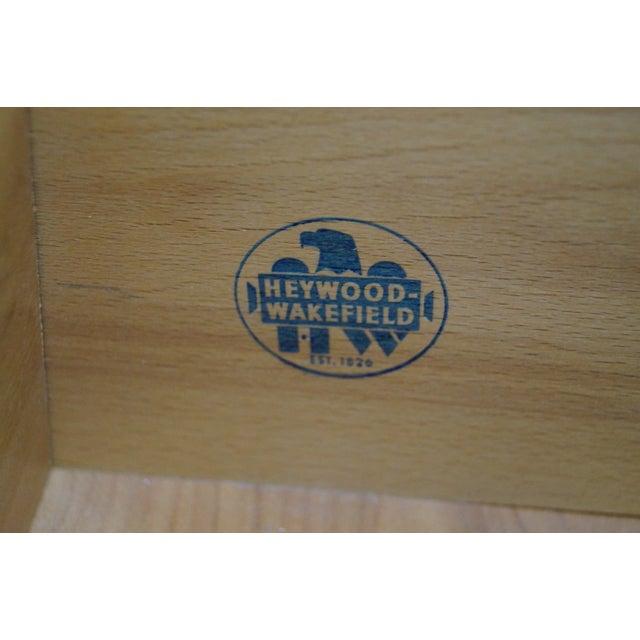 Image of Heywood Wakefield Champagne Mid-Century Desk