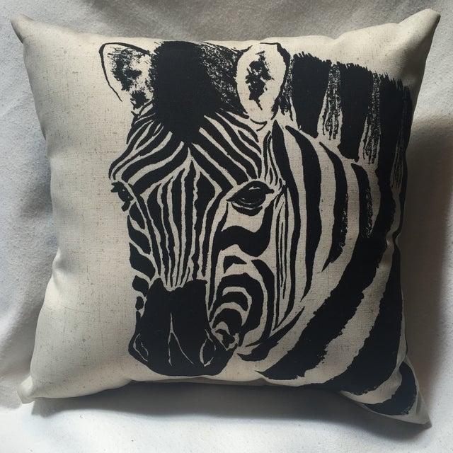 Zebra Print Pillow - Image 3 of 7