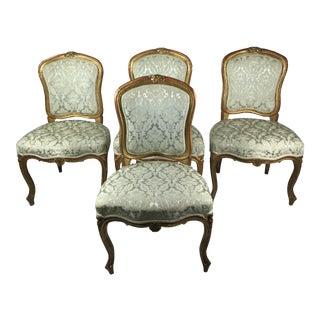 4 Swedish Rococo Chairs