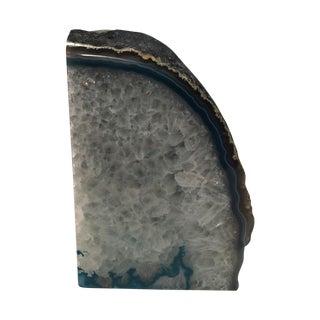 Blue Agate Crystal Specimen