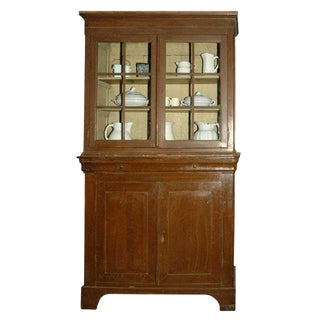 Louis Phillippe Country Cupboard