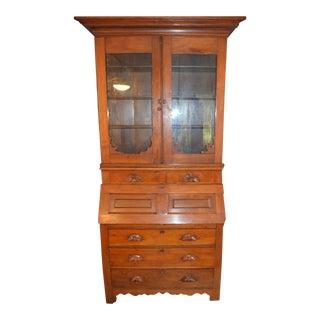 Victorian Secretary Bookcase, 1900s