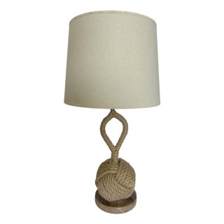 Nautical Rope Knot Table Lamp