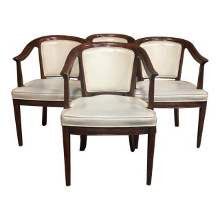 Henredon White Dining Chairs - Set of 4