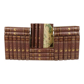 Antique Leather-Bound Books S/22