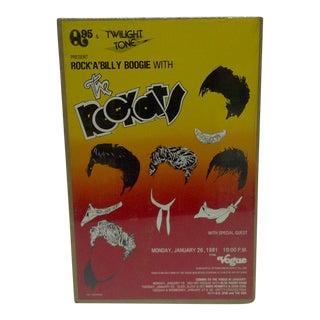 "1980 ""Rock-A-Billy Boogie"" Concert Poster"