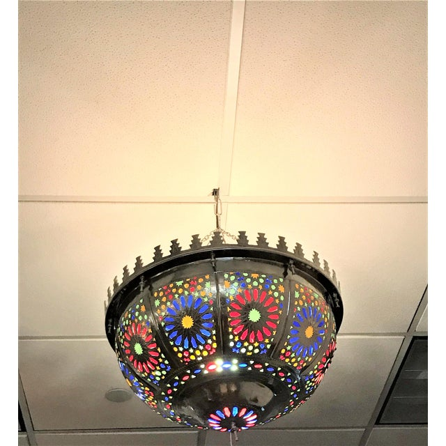Boho Zehroun Metallic Lamp - Image 4 of 5