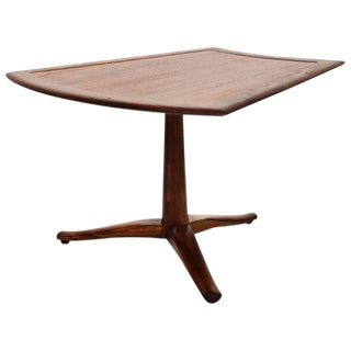 Side Walnut Table Parallel by Barney Flagg for Drexel