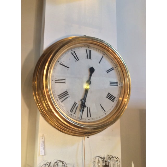 Antique Giltwood Clock - Image 4 of 6