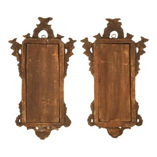 Outstanding Pair of 18th Century Italian Rococo Museum Quality Mirrors
