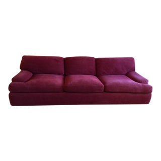 Red A Rudin Design Sofa