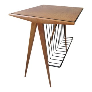Modernist End Table by Arthur Umanoff