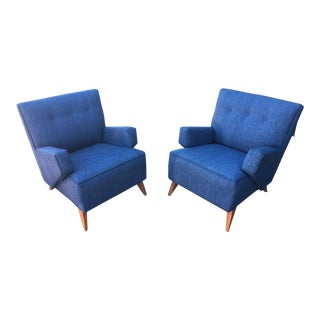 Jens Risom for Knoll Lounge Chairs - A Pair