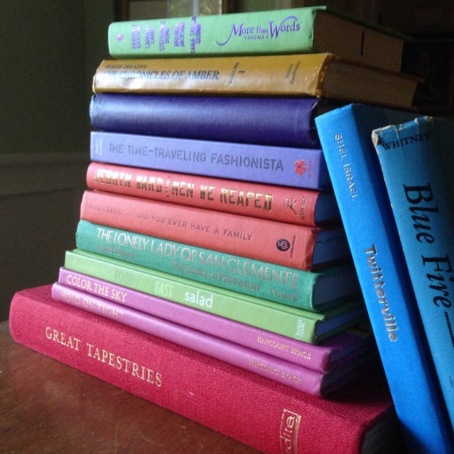 Brightly Colored Decorative Books - Set of 13 - Image 4 of 11