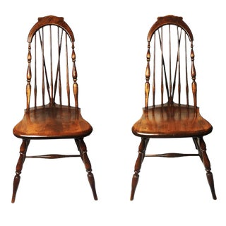 Windsor Classic Side Chairs - A Pair