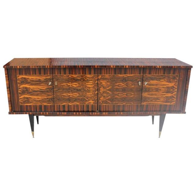 "French Art Deco Exotic Macassar Ebony ""Mushta"" Sideboard / Buffet, circa 1940s - Image 1 of 10"