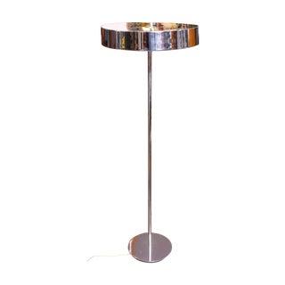 1950s Kurt Versen-Style Chrome Floor Lamp