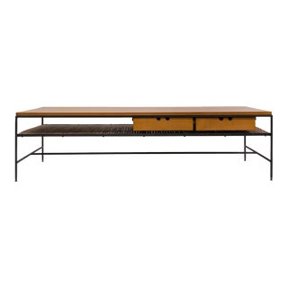 Paul McCobb Planner Group maple and iron coffee table