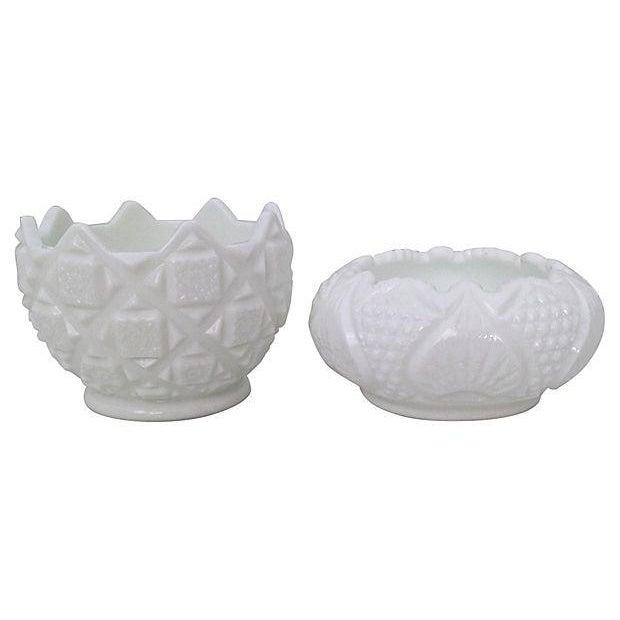 Milk Glass Bowls & Vases- Set of 6 - Image 6 of 6