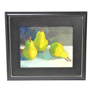'Three in a Row' Still Life Oil Painting