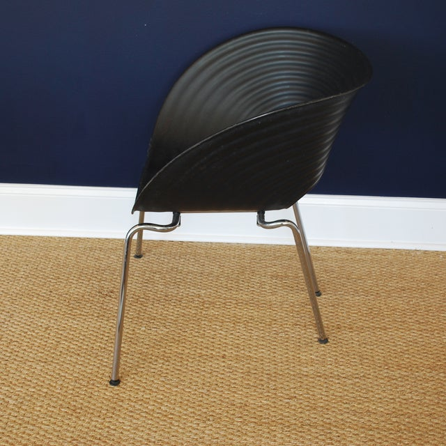 Iconic Black Tom Vac Chairs - Pair - Image 5 of 6