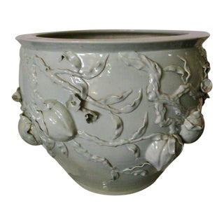 19th Century Celadon Fish Bowl