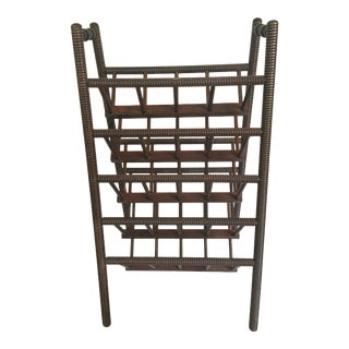 Vintage Book or Magazine Rack
