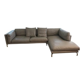 Design Within Reach Leather Sectional