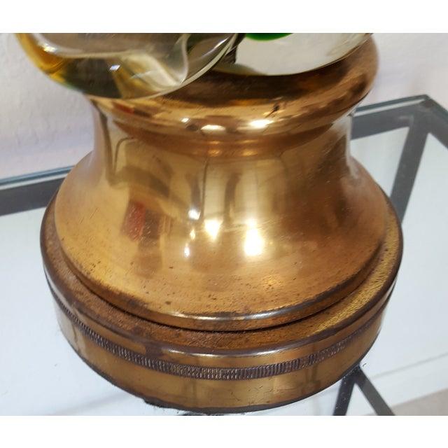 Image of 1960's Gianconi Fasce Verticalli Murano Lamp