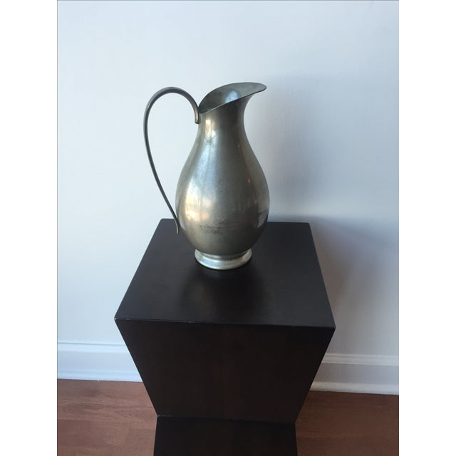 Pewter Pitcher - Image 2 of 10