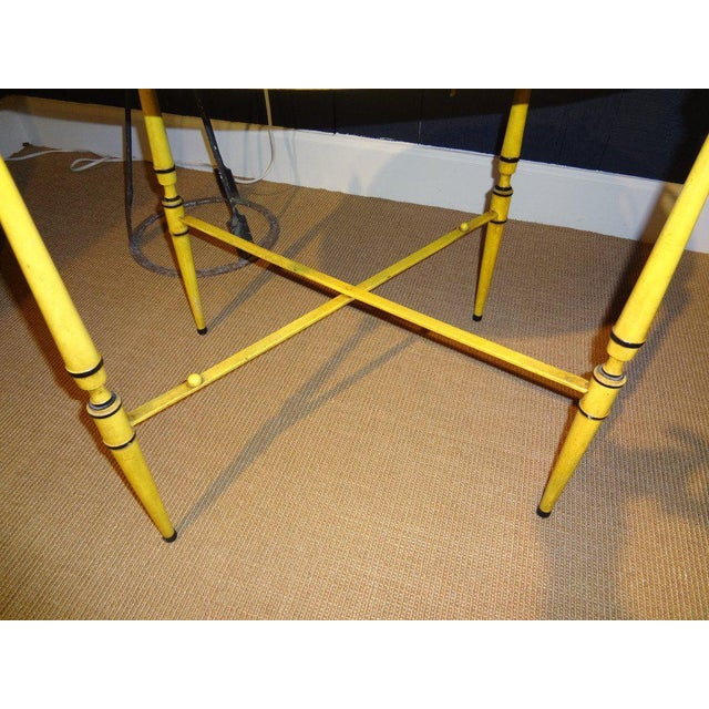 Italian Neoclassical Style Tole Tray Table - Image 5 of 7
