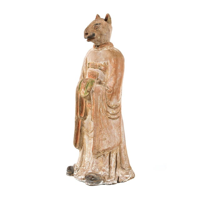 Antique Chinese Zodiac Rat Figurine - Image 2 of 9