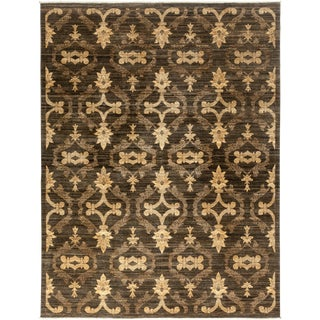 """New Gabbeh Hand Knotted Area Rug - 9'3"""" x 12'2"""""""