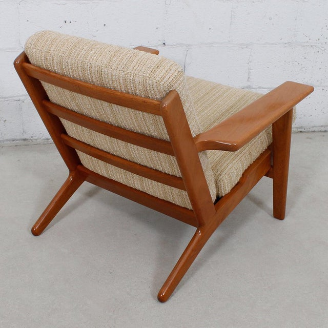 Hans Wegner For Getama Lounge Chair & Ottoman - Image 5 of 10