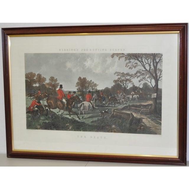 19th Century Fox Hunt Engravings - Set of 4 - Image 2 of 8