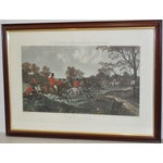 Image of 19th Century Fox Hunt Engravings - Set of 4
