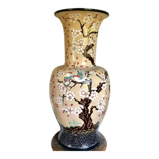 Cherry Blossom & Bird Palace Vase