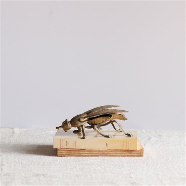 Vintage Brass Bee Ashtray - Image 4 of 4