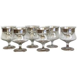 Dorothy Thorpe Seafood Glasses - Set of 6