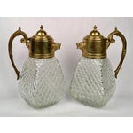 Image of Brass & Crystal Pitcher