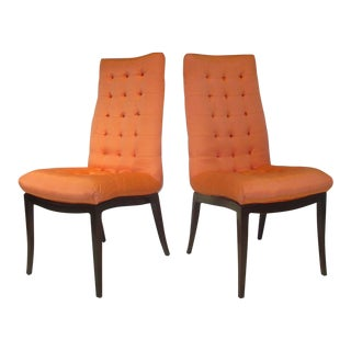 Set of Six Directional Dining Chairs