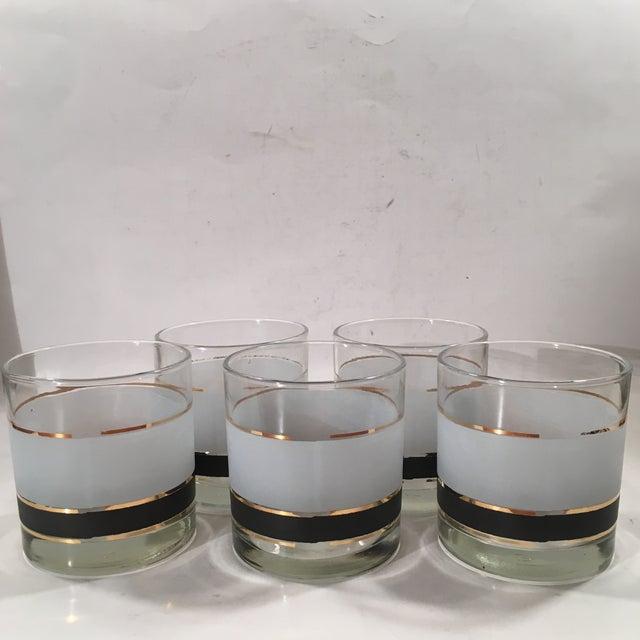 Vintage Libbey Dbl Old Fashion Glasses - Set of 5 - Image 3 of 8