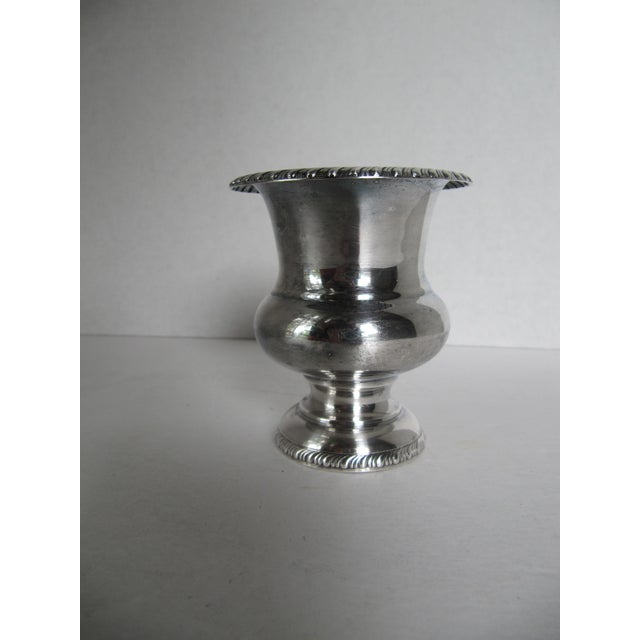 Image of Silver-Plated Urn