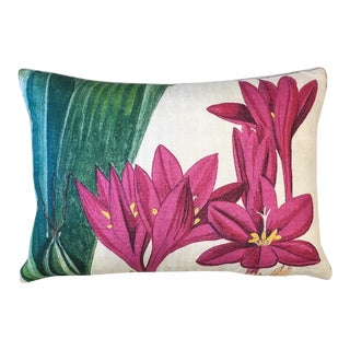 Design Legacy Hot Pink Floral Pillow