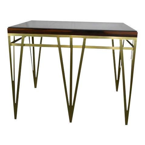 Solid Macassar Top Desk - Image 1 of 3