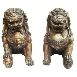 Palacial Pair Large Foo Dogs