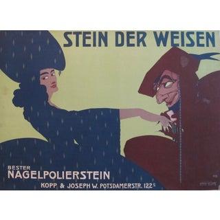 1911 German Beauty Poster, Stein Den Weisen
