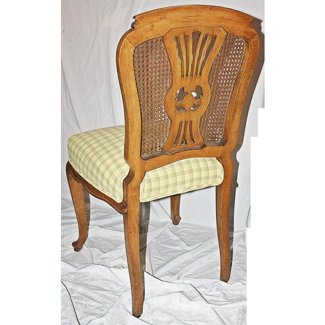 Swedish Gustavian Dining Chairs - Set of 4 - Image 8 of 9