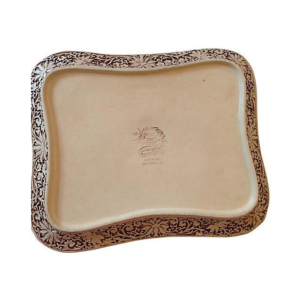 Carved Chinoiserie Pagoda Tray - Image 5 of 6